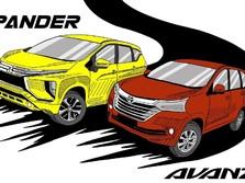 Pajak Bakal 0%, Cek Dulu Daftar 10 Mobil Terlaris di RI Nih!