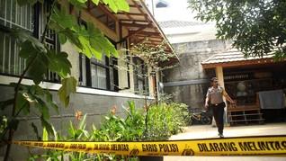 Polisi Cek Sidik Jari di Botol Bom Molotov Rumah Mardani