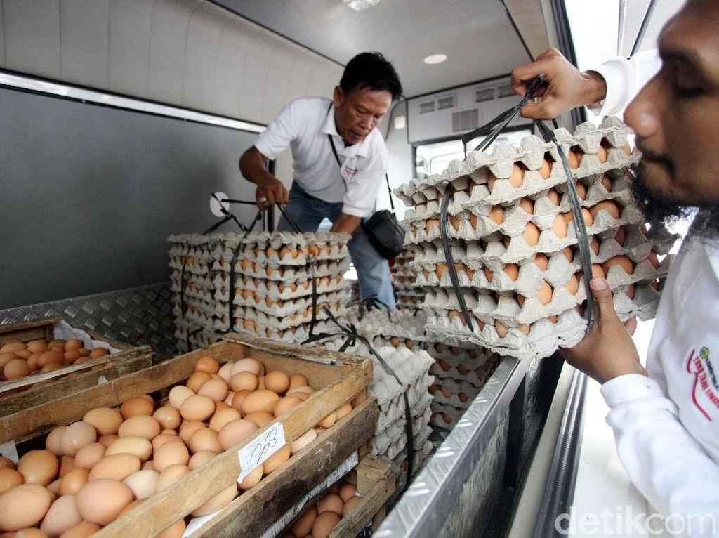Pelepasan operasi telur ayam murah dilakukan untuk menstabilkan harga yang melambung tinggi.