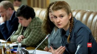 VIDEO: AS Penjarakan Tersangka Agen Rusia Maria Butina