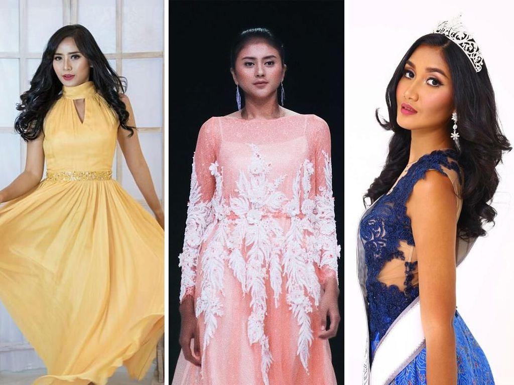 Foto: Ini 3 Finalis Puteri Indonesia 2017 yang Dicopot Gelarnya