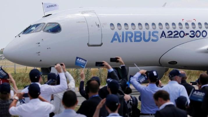 Airbus juga menyatakan perseroan akan membatalkan pembayaran dividen.