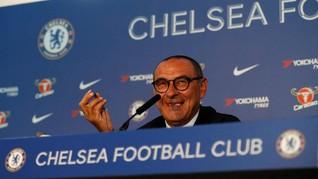 Petinggi Juventus Bertemu Sarri Jelang Laga Final Liga Europa