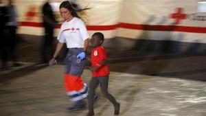 FOTO: Gelombang Pengungsi di Spanyol