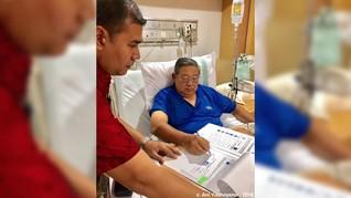 Usai Dirawat di RSPAD, SBY Kembali Kerja dan Beri Arahan