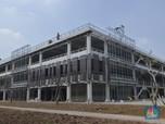 Wow, Atap Gedung Parkir di GBK Ini Hasilkan Listrik 1 MW