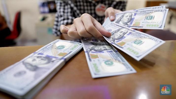 Apes Buat Dolar, The Fed dan IMF Kompak Beri Sentimen Negatif