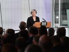 Kabinet Inggris Dukung Rencana Brexit PM May