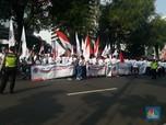 FOTO: Demo Karyawan Pertamina, Tolak Menteri Rini Jual Aset