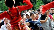 Ribuan Penari Internasional Bakal 'Jaipongan' di Bandung