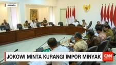Jokowi Minta Kurangi Impor Minyak