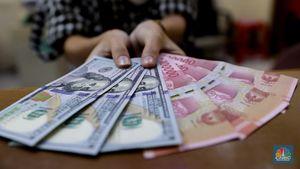 Pukul 12:00 WIB: Rupiah Stagnan di Level Rp 14.330/US$