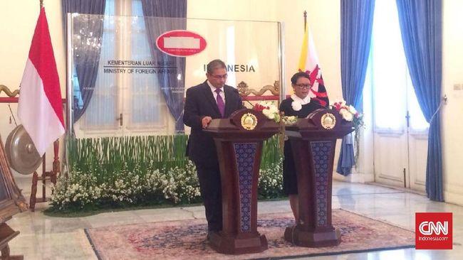 Ke Indonesia, Menlu Brunei Perkuat Perdagangan dan Pariwisata