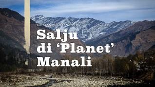 Salju di 'Planet' Manali