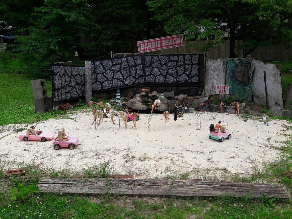 Cuma di Amerika, Ada Pantai Khusus Barbie