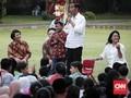 Kumpul Bareng Anak-anak, Jokowi Ingat Lagu Chicha Koeswoyo