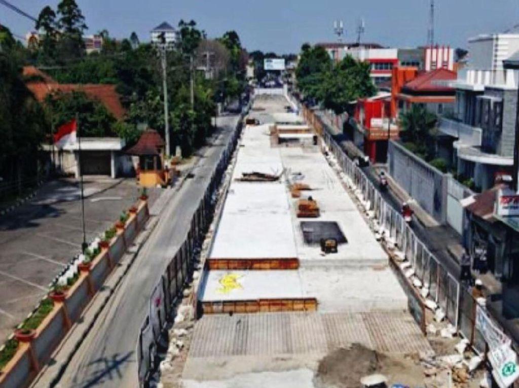 Flyover Manahan di Solo Lagi Dibangun, Intip Yuk Proyeknya