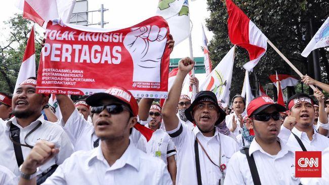 Bukan Menteri, Ribuan Pekerja Pertamina Tolak Temui Arcandra