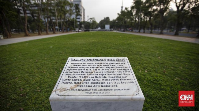 Lapangan seluas 5,2 hektare ini mulai direvitalisasi pada Maret 2017 lalu. Gubernur DKI Jakarta Anies Baswedan akan meresmikannya pada 25 Juli 2018. (CNN Indonesia/Adhi Wicaksono)
