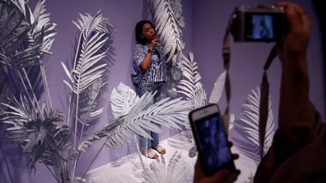Museum itu terbagi atas dua lantai yang masing-masing berisi enam tema berbeda. (REUTERS/Kim Kyung-Hoon)