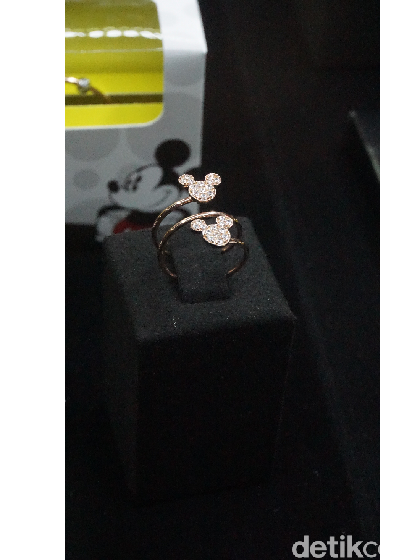 Pertama di Indonesia, Koleksi Perhiasan Emas Bertema Disney