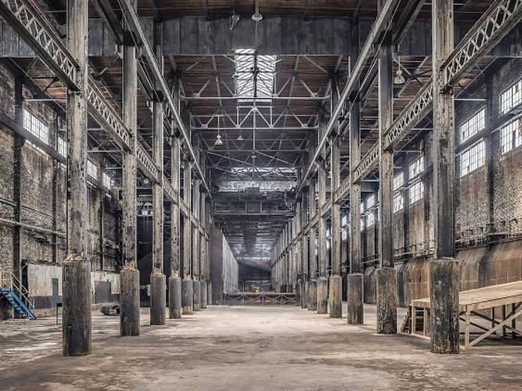 Pabrik gula ini merupakan pabrik gula tua yang ada di kawasan Williamsburg Commonwealth di Virginia Amerika. Istimewa/Paul Raphaelson.