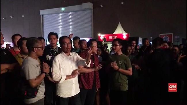 VIDEO: Jokowi Datang ke We The Fest 2018