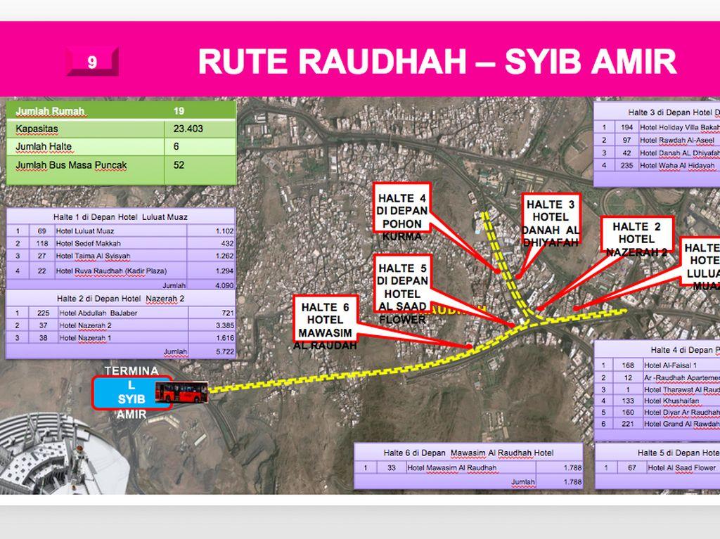 Rute Raudhah-Syib Amir