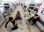 Catat! Pabrik yang Operasi Saat PSBB Diminta Rapid Test Buruh
