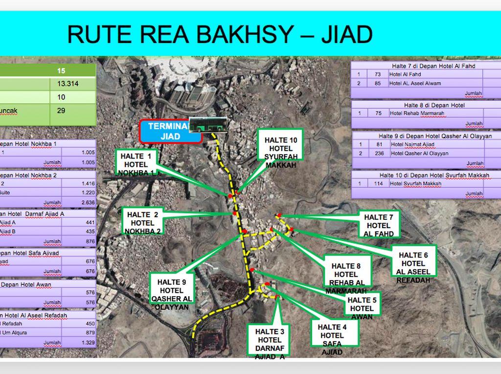 Yang terakhir adalah rute Rea Bakhsy-Jiad
