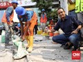 Anies Singgung 'Trotoar Multifungsi' soal Pemindahan PKL
