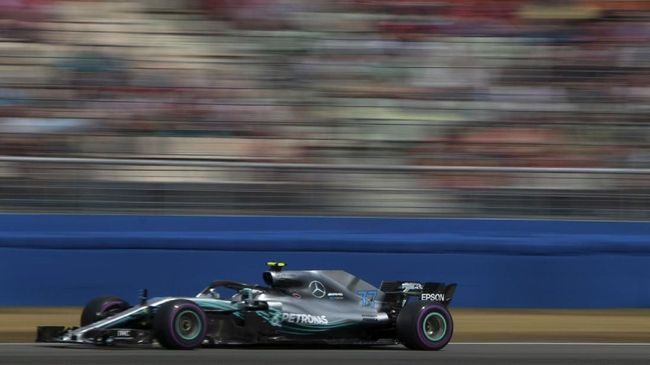 Hasil F1 GP Azerbaijan: Bottas Juara, Hamilton Kedua