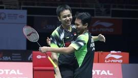 Ahsan/Hendra Kaget Menang 22 Menit di Indonesia Masters 2019
