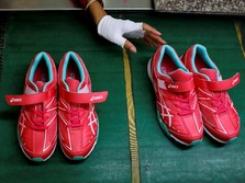 Dolar AS Sentuh Rp 15.000, Sepatu Produk RI Sulit Bersaing