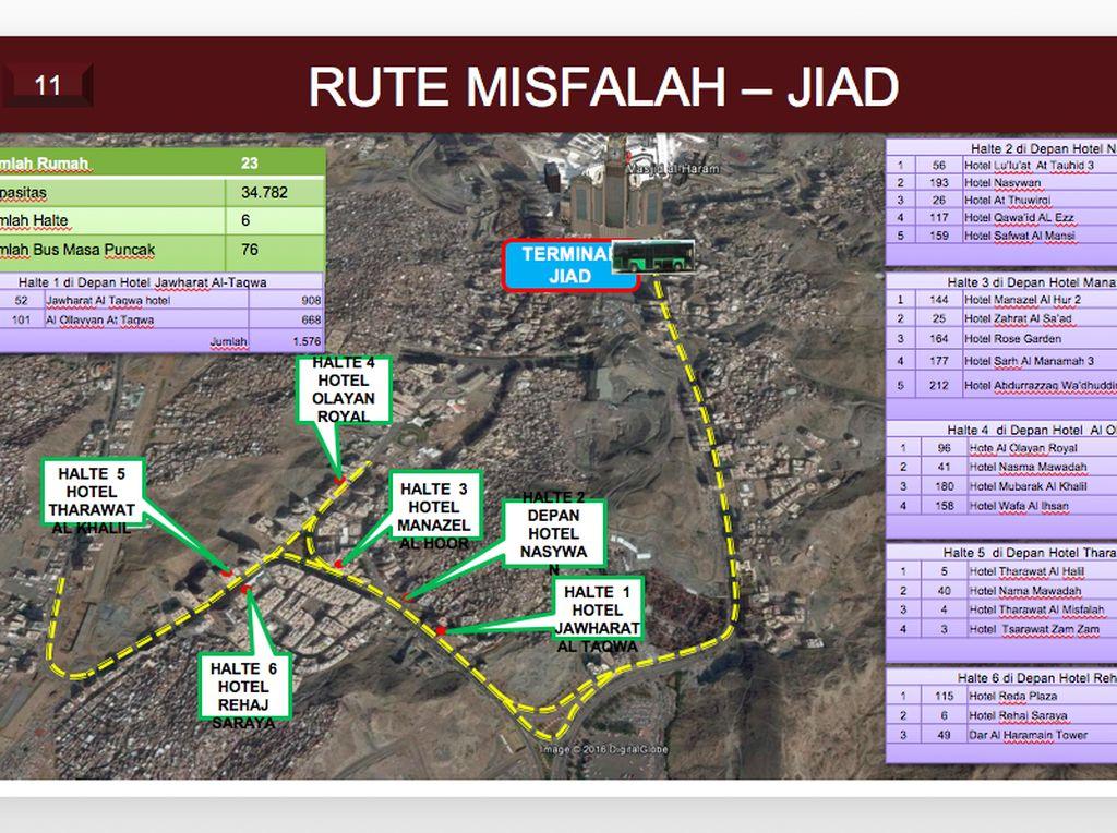 Rute Mislafah-Jiad