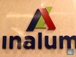 Inalum Teken Kontrak Rp 11,3 T dengan Produsen Aluminium UEA