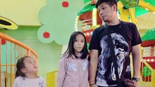 Baim 'The Dance Company' Rilis Lagu Bareng Dua Putrinya