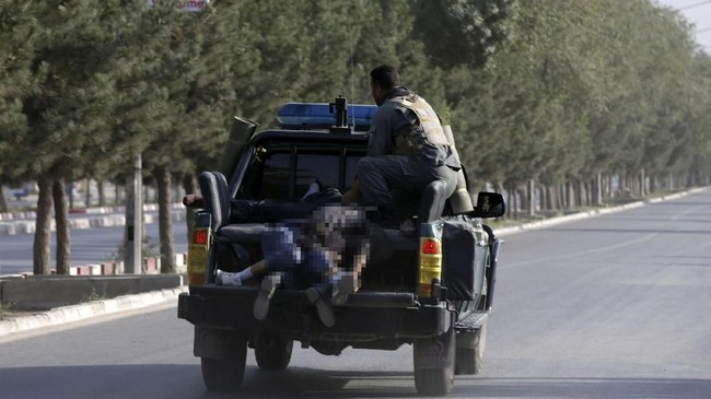 Dia mendukung perdamaian dengan Taliban dan berterima kasih pada rekanan internasional atas bantuan selama ini. (REUTERS/Omar Sobhani)