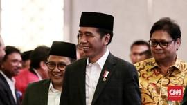 Diiringi Pawai Parpol, Jokowi Daftar Capres Sebelum Jumatan