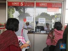 Terpaksa Jual Tiket Kertas Rp 3.000, Operator KRL Merugi