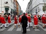 Hebohnya Kongres Ratusan Sinterklas di Denmark