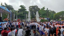 'Fun Walk' AP II Ikut Meriahkan Pawai Obor Asian Games