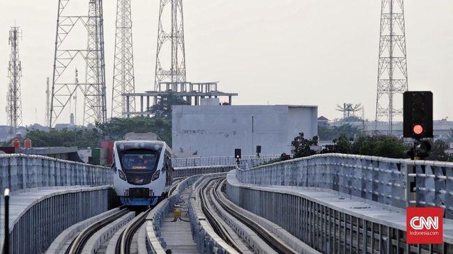 Pemerintah Subsidi Tarif LRT Palembang Rp300 Miliar per Tahun