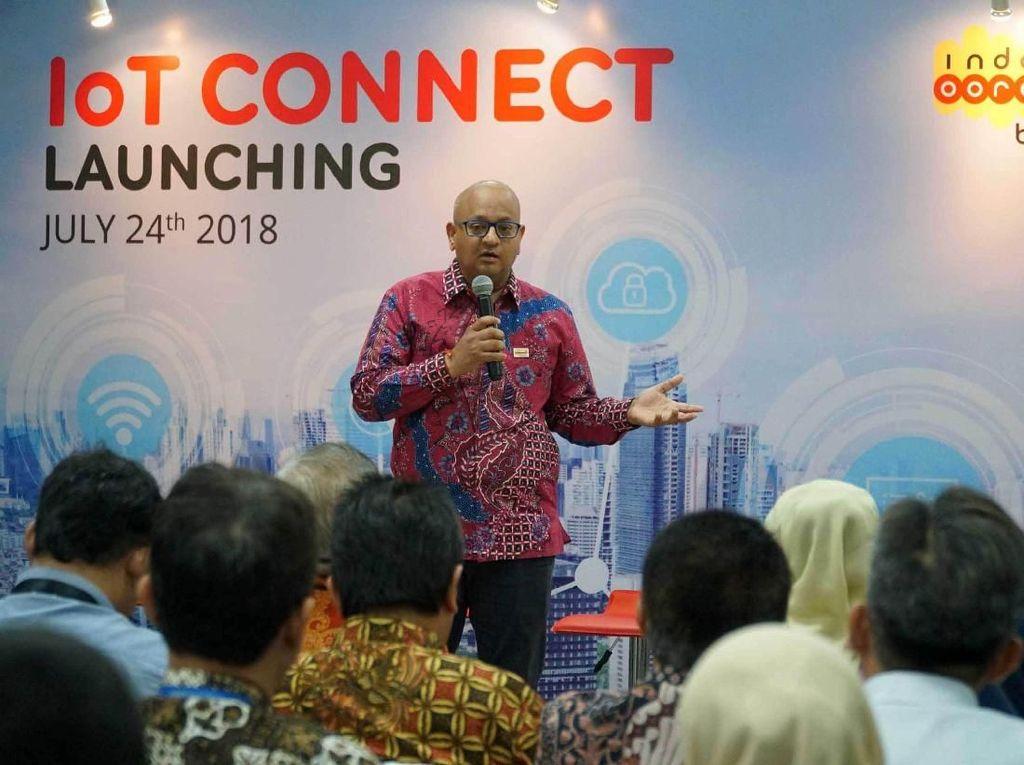 IoT Connect adalah Connectivity Management Platform yang didukung oleh Ericsson dengan data center berlokasi di Indonesia, dan menjadi yang pertama di Asia Tenggara, memungkinkan tingkat keamanan yang lebih baik dan bandwidth lebih tinggi untuk use case IoT seperti streaming. Istimewa/Indosat Ooredoo.