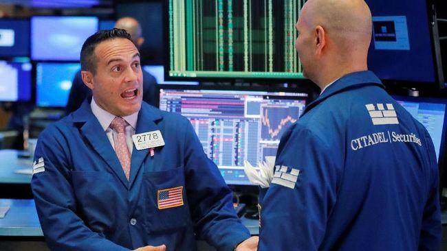 Harga Minyak Tertekan, Dow Jones Dibuka Berayun ke