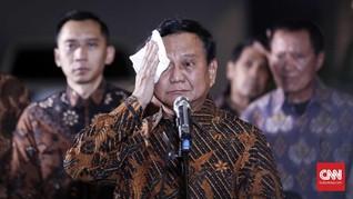 Prabowo Digugat Perdata Terkait Wanprestasi Saham Rp52 Miliar
