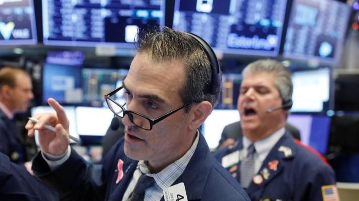 Perdagangan Wall Street akan diwarnai oleh risiko perang dagang.