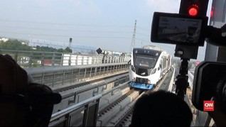 Hari Ini, LRT Palembang Tak Gratis Lagi