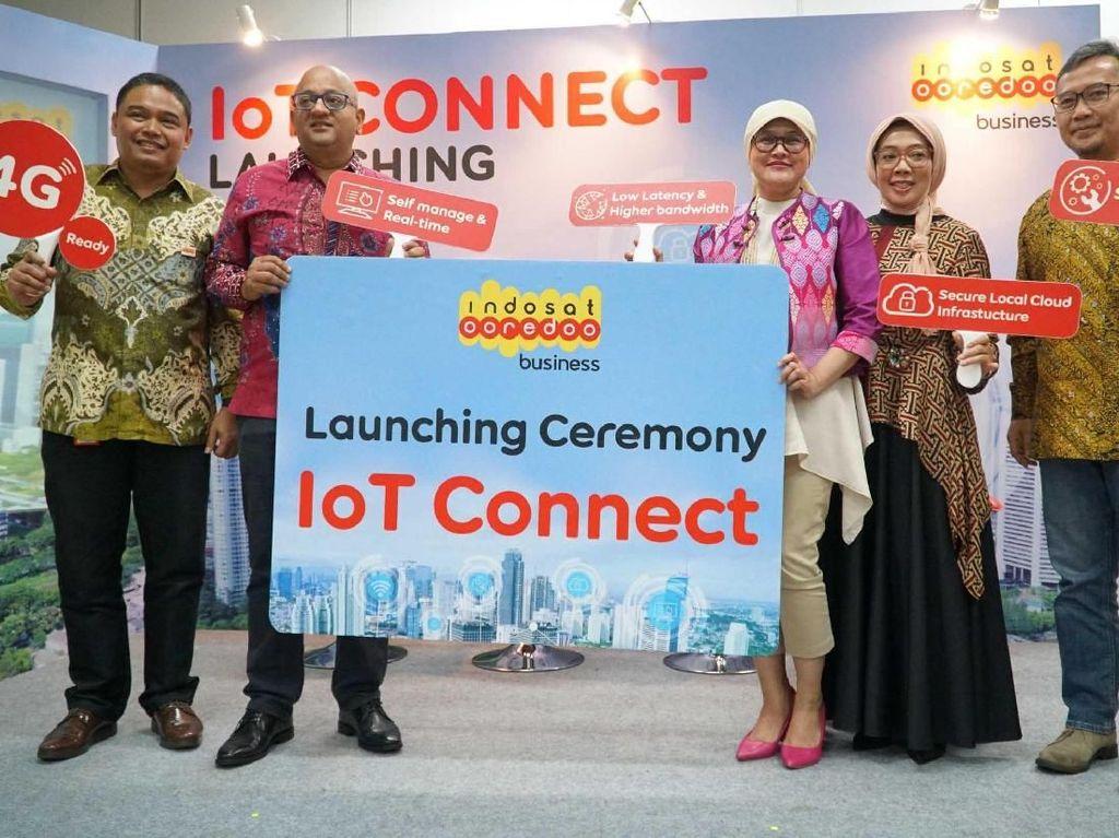 Melalui Indosat Ooredoo Business, operator itu meluncurkan IoT Connect untuk memperkuat posisi Indosat Ooredoo sebagai hub dari ekosistem Internet of Things (IoT). Istimewa/Indosat Ooredoo.