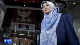 Empat Petugas KPK Periksa Kontrakan Inneke di Bandung